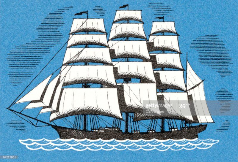 ギリシャの帆船